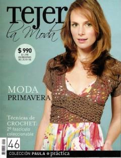 Tejer La Moda 46 - Primavera 2008